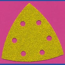 sia Delta-Schleifscheiben HL – 93 mm 6-fach gelocht, K40 sehr grob