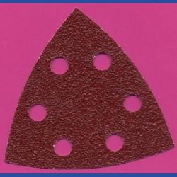 MIRKA Delta-Schleifscheiben HL – 93 mm 6-fach gelocht, K40 sehr grob