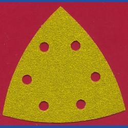 sia Delta-Schleifscheiben HL – 93 mm 6-fach gelocht, K60 grob