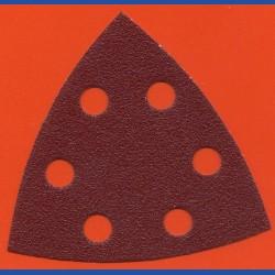 MIRKA Delta-Schleifscheiben HL – 93 mm 6-fach gelocht, K80 grob