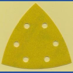 sia Delta-Schleifscheiben HL – 93 mm 6-fach gelocht, K150 mittel