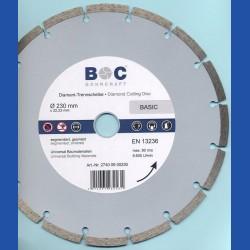 BOHRCRAFT Diamant-Trennscheibe BASIC Ø 230 mm