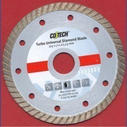 CO/TECH Diamant-Trennscheibe Turbo Universal Ø 125 mm