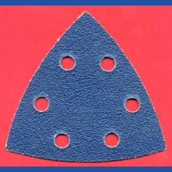Kaindl Delta-Schleifscheiben ZR – 93 mm 6-fach gelocht, K60 grob