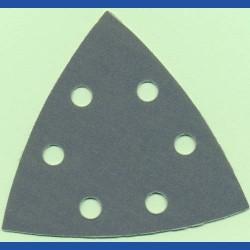 Kaindl Delta-Schleifscheiben AU – 93 mm 6-fach gelocht, K400 extra fein