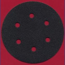 KLINGSPOR Haft-Schleifscheiben SC – Ø 150 mm 6-fach gelocht, K60 grob