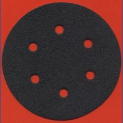 KLINGSPOR Haft-Schleifscheiben SC – Ø 150 mm 6-fach gelocht, K80 grob
