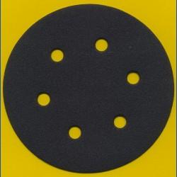 KLINGSPOR Haft-Schleifscheiben SC – Ø 150 mm 6-fach gelocht, K120 mittelgrob