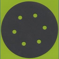 KLINGSPOR Haft-Schleifscheiben SC – Ø 150 mm 6-fach gelocht, K320 sehr fein