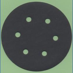 KLINGSPOR Haft-Schleifscheiben SC – Ø 150 mm 6-fach gelocht, K400 extra fein