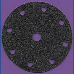 KLINGSPOR Haft-Schleifscheiben SC – Ø 150 mm 9-fach gelocht, K24 extra grob