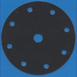 Hermes Haft-Schleifscheiben SC – Ø 150 mm 9-fach gelocht, K600 superfein
