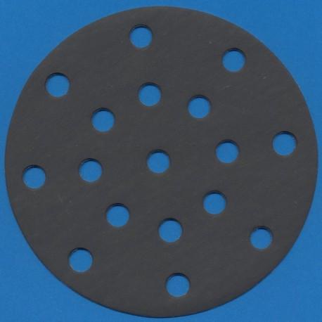 KLINGSPOR Haft-Schleifscheiben SC – Ø 150 mm 17-fach gelocht, K800 superfein