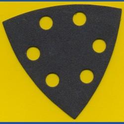 KLINGSPOR Delta-Schleifscheiben SC – 93 mm 6-fach gelocht, K120 mittelgrob