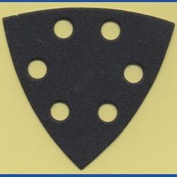 KLINGSPOR Delta-Schleifscheiben SC – 93 mm 6-fach gelocht, K150 mittel