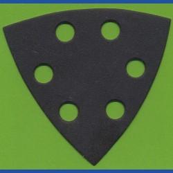 KLINGSPOR Delta-Schleifscheiben SC – 93 mm 6-fach gelocht, K240 fein