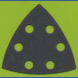 KLINGSPOR Delta-Schleifscheiben SC – 93 mm 6-fach gelocht, K320 sehr fein