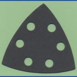 KLINGSPOR Delta-Schleifscheiben SC – 93 mm 6-fach gelocht, K400 extra fein
