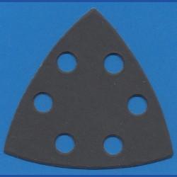 KLINGSPOR Delta-Schleifscheiben SC – 93 mm 6-fach gelocht, K600 superfein