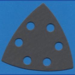KLINGSPOR Delta-Schleifscheiben SC – 93 mm 6-fach gelocht, K800 superfein