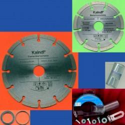 Kaindl Stein-Trenn-Kombiset für Winkelschleifer und Handkreissäge