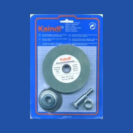 Kaindl Siliciumcarbid-Schleifstein mit Adapter für die Bohrmaschine