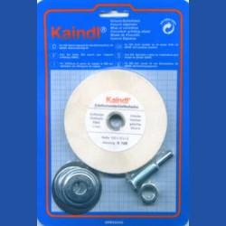 Kaindl Edelkorund-Schleifstein mit Adapter für die Bohrmaschine