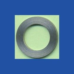 rictools Präzisions-Reduzierring gerändelt stark – 20 mm / 12,7 mm (1/2''), Stärke 1,6 mm