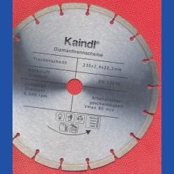 Kaindl Hochleistungs-Diamant-Trennscheibe für Winkelschleifer Ø 230 mm