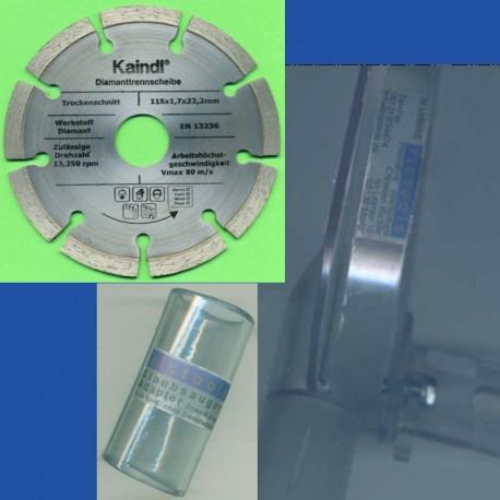 rictools Stein-Trenn-Set spezial Ø 115 mm