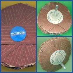 rictools Schleifstern Standard-Sortiment, 3 Stück