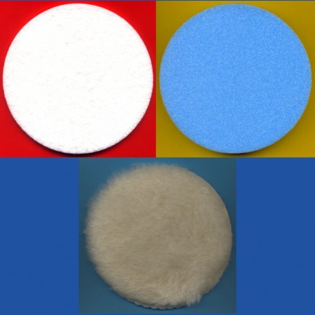 rictools Haft-Polier-Set Standard für Ø 125 mm