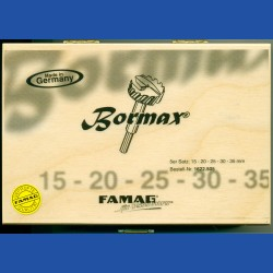Bormax by FAMAG Forstnerbohrer Basis-Set