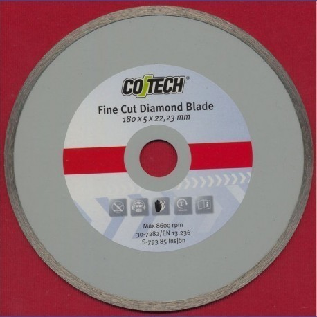 CO/TECH Diamant-Trennscheibe Feinschnitt Ø 180 mm