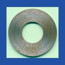 rictools Präzisions-Reduzierring gerändelt dünn – 30 mm / 12,7 mm (1/2''), Stärke 1,2 mm