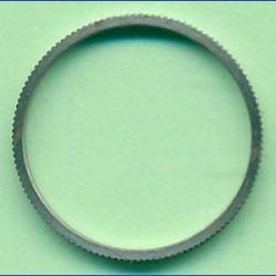 rictools Präzisions-Reduzierring gerändelt dünn – 20 mm / 18 mm, Stärke 1,2 mm