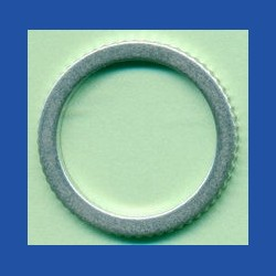 rictools Präzisions-Reduzierring gerändelt stark – 20 mm / 15,875 mm (5/8''), Stärke 1,6 mm