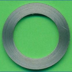 rictools Präzisions-Reduzierring gerändelt dünn – 30 mm / 20 mm, Stärke 1,2 mm
