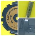 rictools woodcarver gold Set spezial – für die meisten 125 mm-Winkelschleifer