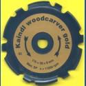 Kaindl woodcarver gold Schnitzfräser für Winkelschleifer – Ø 115 mm