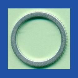 rictools Präzisions-Reduzierring gerändelt normal – 20 mm / 15,875 mm (5/8''), Stärke 1,4 mm