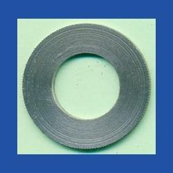 rictools Präzisions-Reduzierring gerändelt dünn – 30 mm / 15,875 mm (5/8''), Stärke 1,2 mm