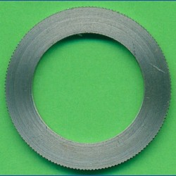 rictools Präzisions-Reduzierring gerändelt stark – 30 mm / 20 mm, Stärke 1,6 mm