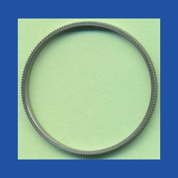 rictools Präzisions-Reduzierring gerändelt dünn – 30 mm / 28 mm, Stärke 1,2 mm