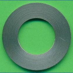 rictools Präzisions-Reduzierring gerändelt dünn – 30 mm / 16 mm, Stärke 1,2 mm