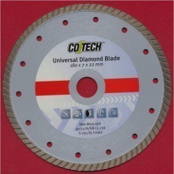CO/TECH Diamant-Trennscheibe Turbo Universal Ø 180 mm