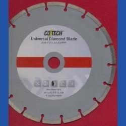CO/TECH Diamant-Trennscheibe Universal Ø 230 mm