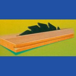 wolfcraft Serie grün Handkreissägeblatt HM Wechselzahn antihaftbeschichtet, Ø 200 mm, Bohrung 25 mm