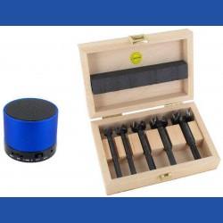 FAMAG Angebot des Monats Mai 2017: Bormax³by FAMAGhartmetallbestückter Forstnerbohrer Basis-Set + Bluetooth Lautsprecher