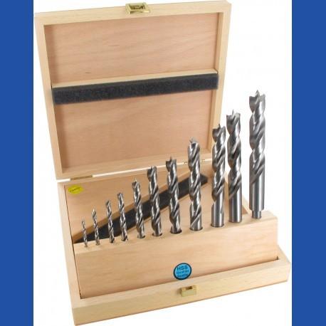 Holzspiralbohrer HSS-G Classic Handwerker-Set